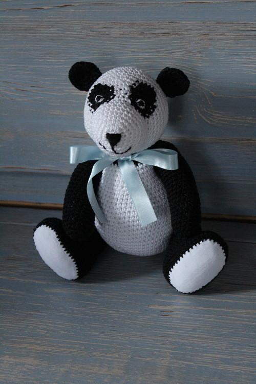 Háčkovaná panda