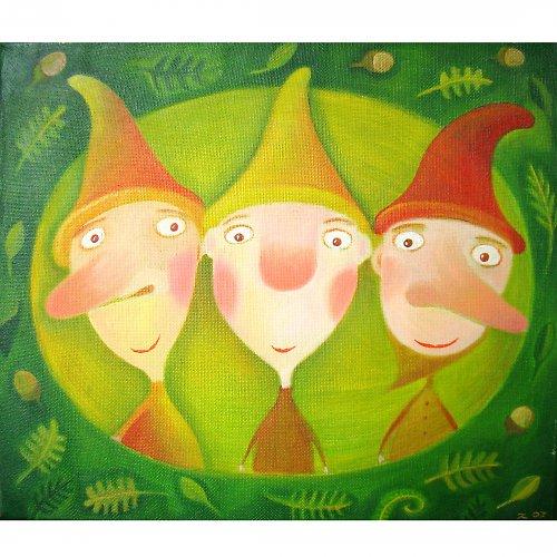 Tři trpaslíci