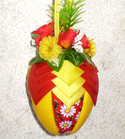 Artyčokové vajíčko - červeno-žluté - malé