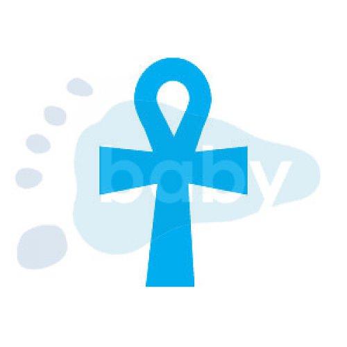 Razítko egyptský kříž života 4,5 x 7 cm