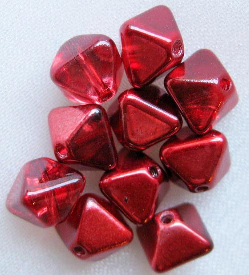 pyramidky (sluníčka) červené