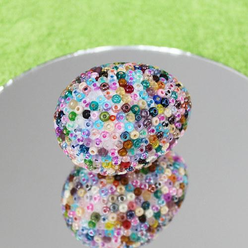 Velikonoční vajíčko od skleněného kohouta 01
