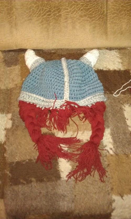 vikingská čepice