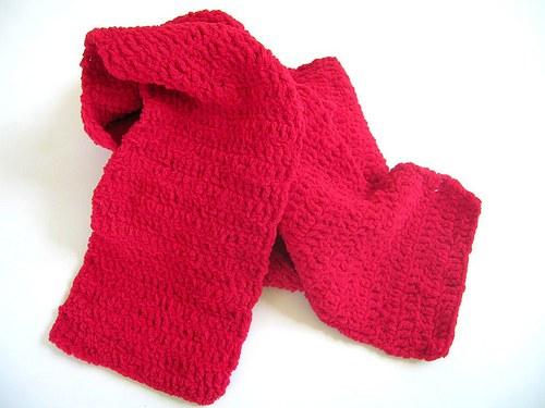 Červená šála