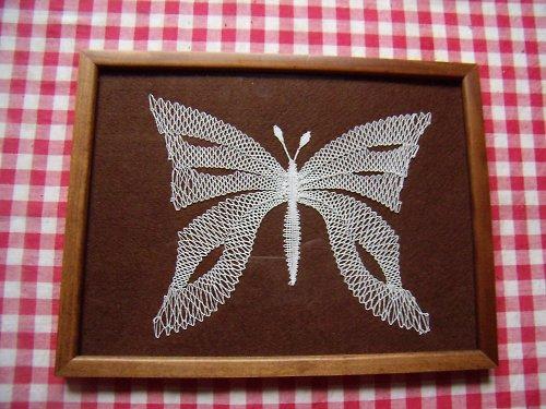 paličkovaný motýl