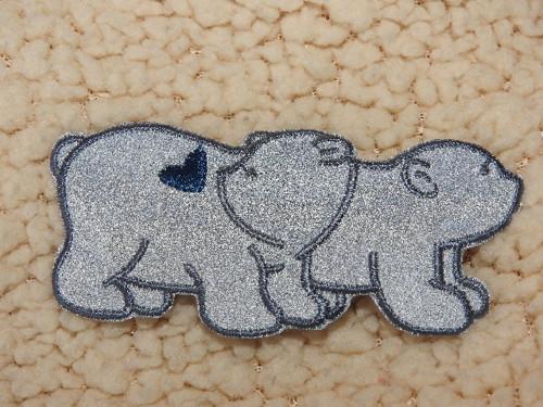 Nažehlovačka reflexní Medvědi