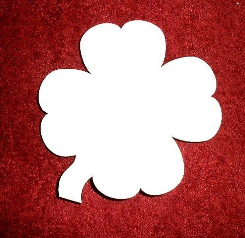 2D výřez čtyřlístek - v.10x9cm