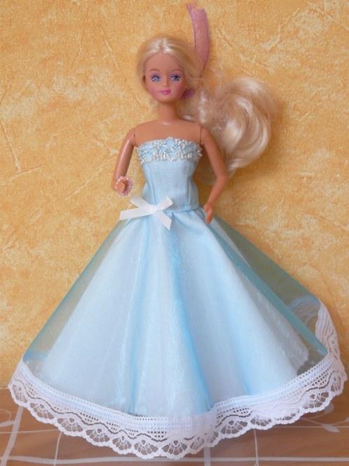 Šaty pro princeznu - modré