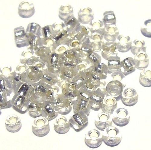 Rokajl - křišťálově čiré - 2 mm