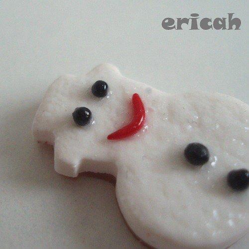 Mini dortík Sněhulák