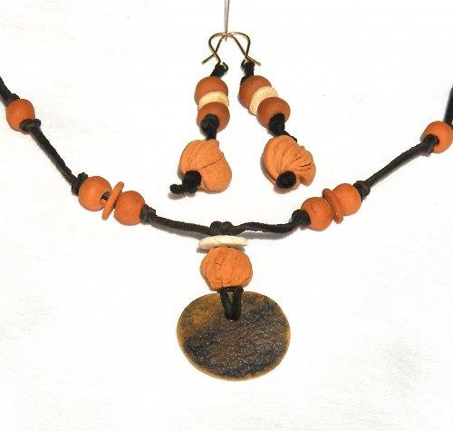 Souprava náušnice + náhrdelník