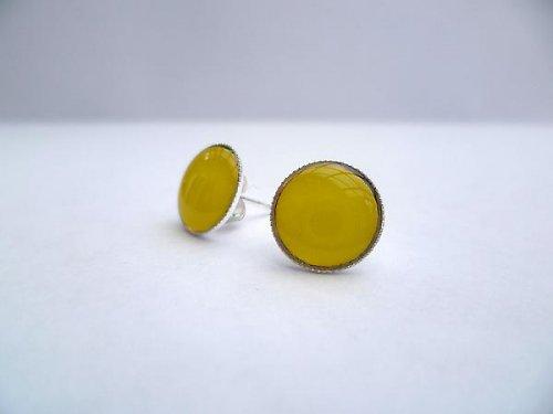 Náušnice žluté