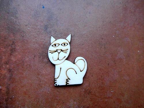 2D výřez Natálčina kočička -v.4x3cm