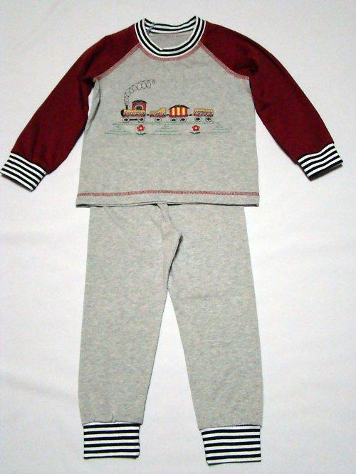 Dětské pyžamko s vláčkem