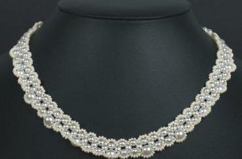 Šitý náhrdelník - varianta A