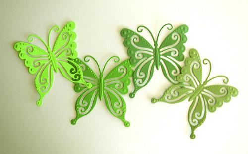 Motýli - 4 ks