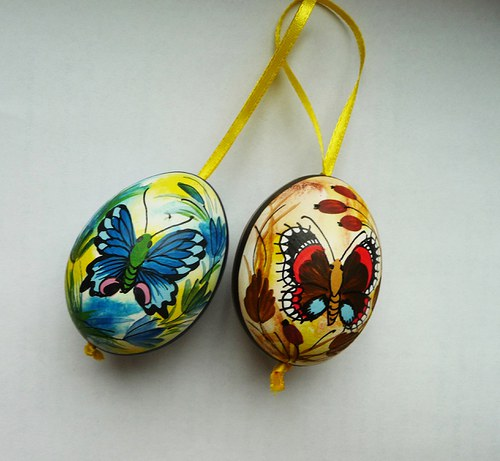 Kraslice - motýlci
