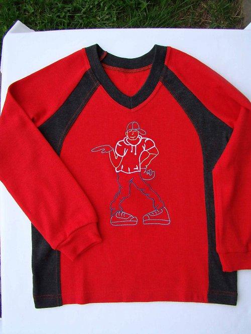 chlapecké triko-funkční  materiál