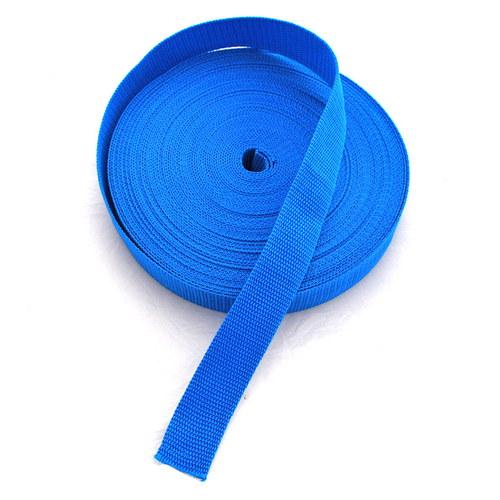 Popruh POP 2,5 cm - modrá světlá