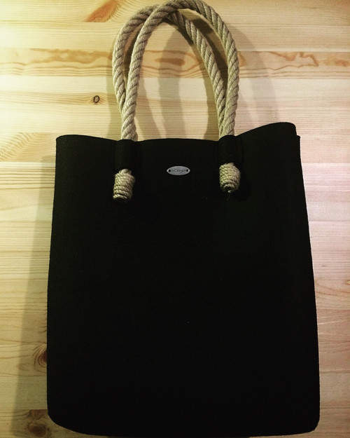LUCKYskirt BAG black