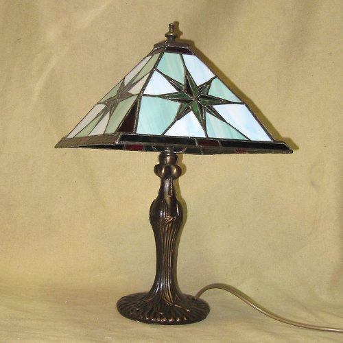 "Tiffany lampa \"" Kompas\"""