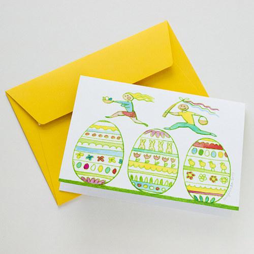 Velikonoční koleda - tištěné přání