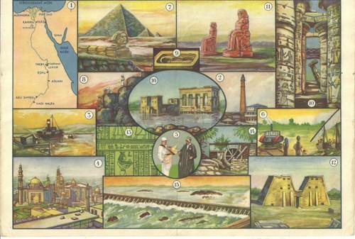 Reklamní okénko pro děti Egypt