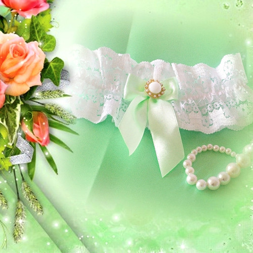 svatební podvazek 037