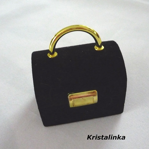 Krabička kufřík......černá