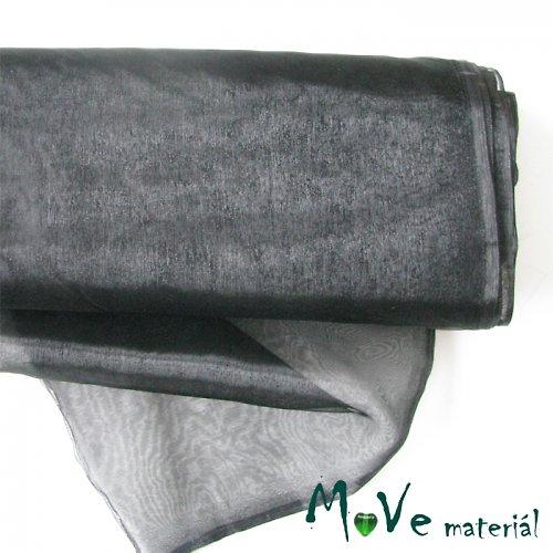 Organza černá 140cm/ 20 cm - 18