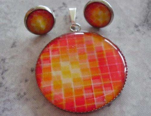 Červená mozaika