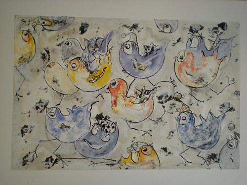 Ptačí - zimní počasí ...