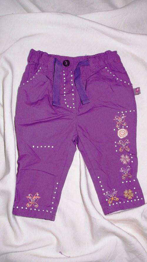 MOTÝLKOVÉ (62) - dětské zateplené kalhoty