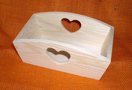 Truhlík nebo zásobník srdce menší DX31