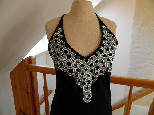 Úpletové letní šaty SLEVA