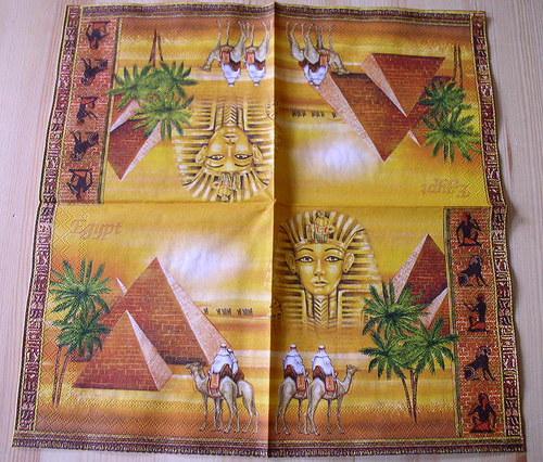 Ubrousek EGYPT U399