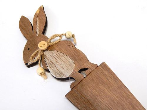 Zápich, jarní dekorace, králíček, zajíc