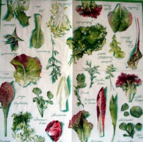 Ubrousek zelenina -saláty