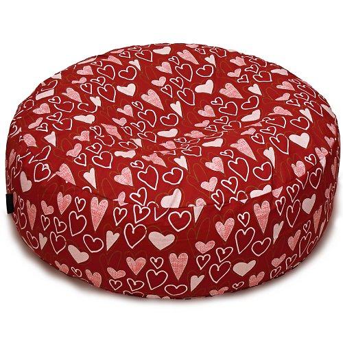 Sedací vak - valentýnský