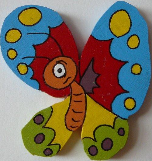 magnet motýl