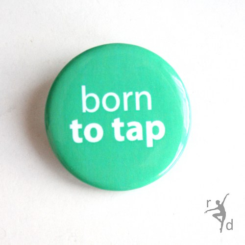 Placka BORN TO TAP