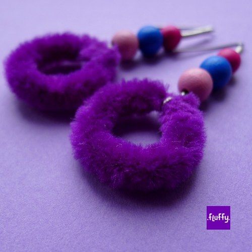 Fluffy Purple II.