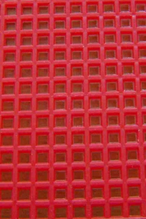 Plastová kanava I - červená
