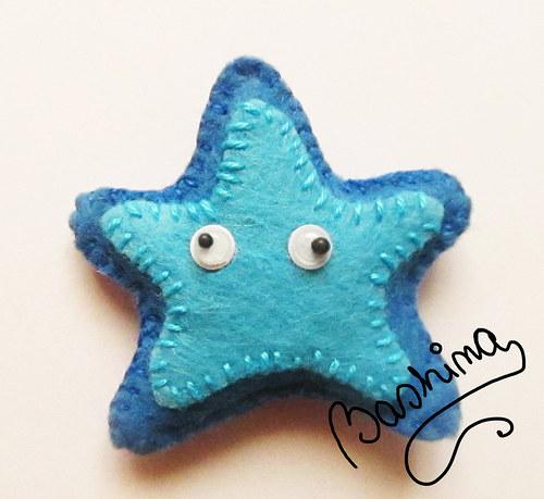modrá hvězdice:)