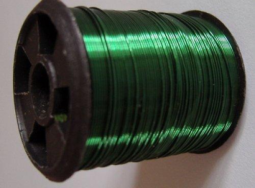 Bižuterní drátek 10 m - zelený
