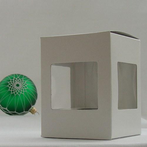 Krabička na průměr 8 cm - papír