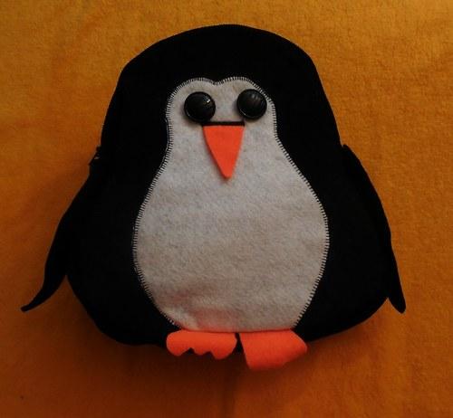 Dětský batoh tučňák a sova - online kurz