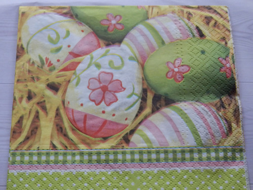 Ubrousek Velikonoce