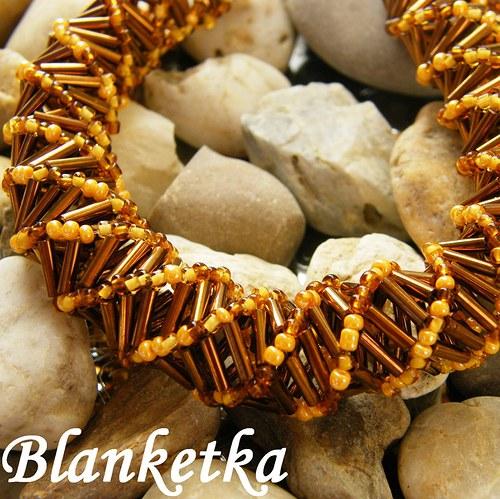 Zlato pouště...náhrdelník