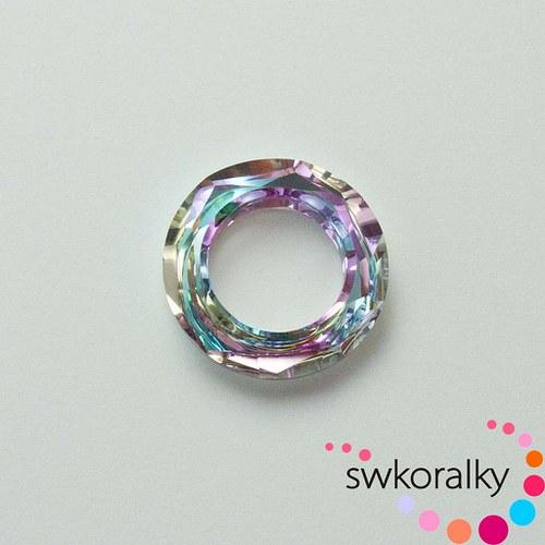 COSMIC RING 20 SWAROVSKI ® ELEMENTS vitrail light